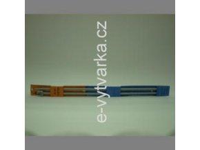Jehlice na pletení č.5,5 plastové
