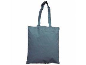 Bavlněná taška 38x42cm, dlouhá ucha - šedá
