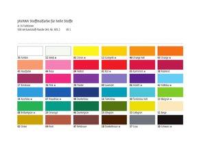 Barva na světlý textil - základní (500 ml) - 36 odstínů