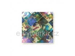 Skleněná mozaika, 10x10 mm (200 ks) - pestrá