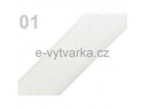 Popruh polypropylén š.50mm (5m) - bílá