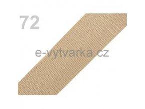 Popruh polypropylén š.40mm (5m) - krémová