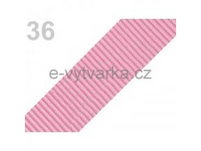 Popruh polypropylén š.40mm (5m) - růžová