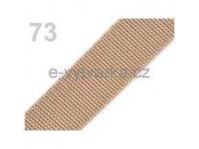 Popruh polypropylén š.40mm (5m) - croissant