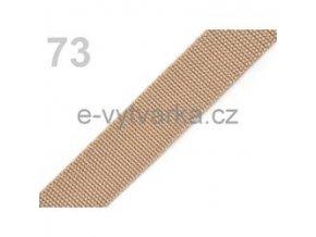 Popruh polypropylén š.24mm (5m) - croissant