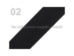 Popruh polypropylén š.40mm (5m) - černá