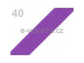 Popruh polypropylén š.24mm (5m) - ostružinová