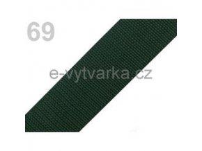 Popruh polypropylén š.40mm (5m) - zelená sytá