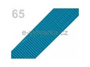 Popruh polypropylén š.40mm (5m) - zelená tyrkys