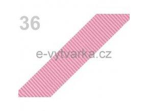Popruh polypropylén š.24mm (5m) - růžová