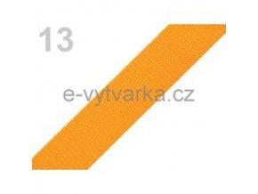 Popruh polypropylén š.24mm (5m) - meruňková