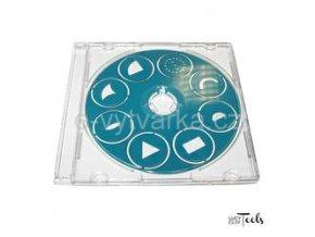 Disk s tvořítky pro Czextruder Lucy Clay - č.3 (modrý)