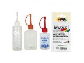 Plastové lahvičky a kovové hroty - více druhů