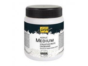 Strukturovací pasta - hrubý písek (250 ml)