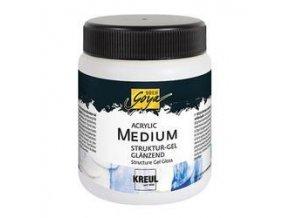 Akrylový strukturovací gel - lesklý (250 ml)