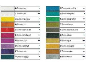 Barva na textil Setacolor Shimmer (45ml) - 20 odstínů