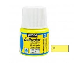 Barva na textil Setacolor Light Fabric Fluo (45ml) - 5 odstínů