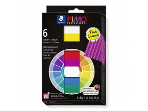 Sada FIMO professional - Základní barvy - TRUE COLORS