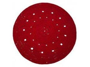SET Hoooked Zpagetti koberec - Bordeaux