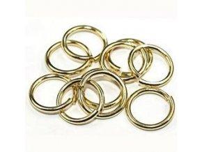 Spojovací kroužky pr.6 mm (50-1000ks) - zlato