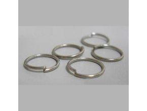 Spojovací kroužky pr.5 mm (50-1000ks) - platina