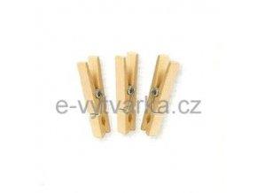 Dřevěné kolíčky, 45 mm (72 ks)