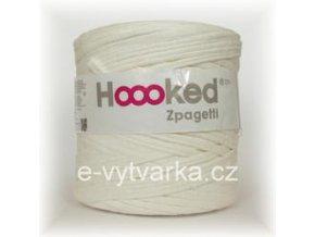Hoooked Zpagetti - milk white textured (120 m)