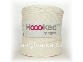 Hoooked Zpagetti - creme white (120 m)