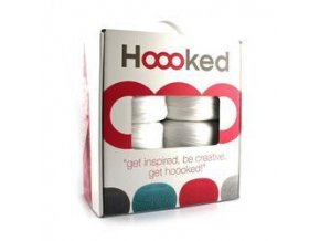 SET Hoooked Zpagetti Puff - White