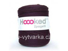 Hoooked Zpagetti - dark plum (120 m)