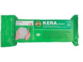 Modelovací hmota Keraplast (1kg) - bílá