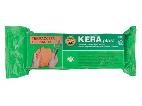 Modelovací hmota Keraplast (1kg) - terakota