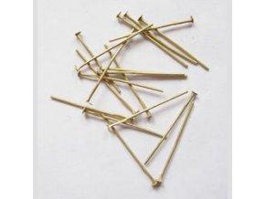 Ketlovací nýty 30 mm (50-1000ks) - staromosaz