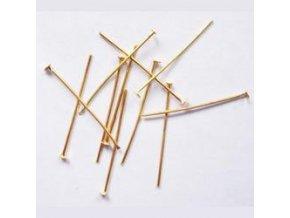 Ketlovací nýty 20 mm (50-1000ks) - zlato