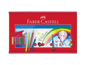 Pastelka Grip Faber-Castell 2001 dřevený box 35ks