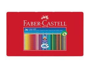 Pastelka Faber-Castell Grip 2001 plech.krabička 36ks