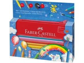 Pastelka Faber-Castell Grip 2001 dárková krabička 16ks