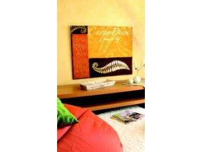 Tepané kovové plátky Home Design ART DECO - zlatá, 6 ks