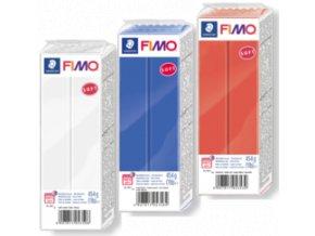 NOVÉ levnější velké FIMO Soft 454g - 11 odstínů