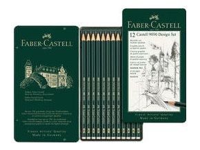 Grafitová tužka Castell 9000 Design sada