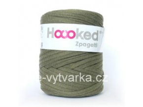 Hoooked Zpagetti - olive green (120 m)