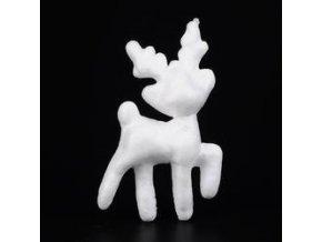 Polystyrenový jelen 10,5 cm