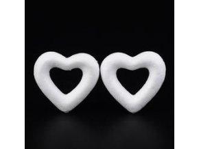 Polystyrenové srdce  6,4 cm