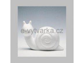 Polystyrenový hlemýžď 10,5 cm
