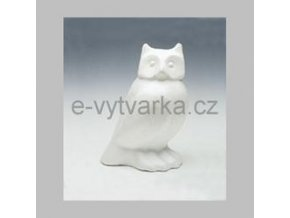 Polystyrenová sova 13 cm