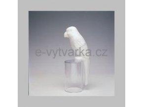 Polystyrenový papoušek 25 cm