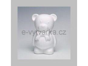 Polystyrenový medvídek 20 cm