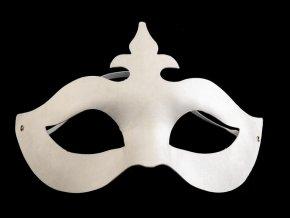 Karnevalová maska k domalování č.2