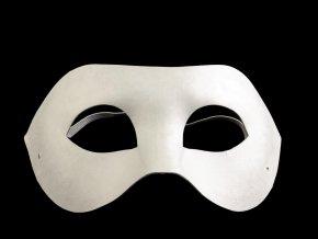 Karnevalová maska k domalování č.1