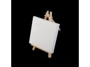 Mini malířský stojan s plátnem 10x15,5cm